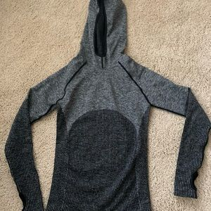 Fitted Athletic Jacket w/ Hood
